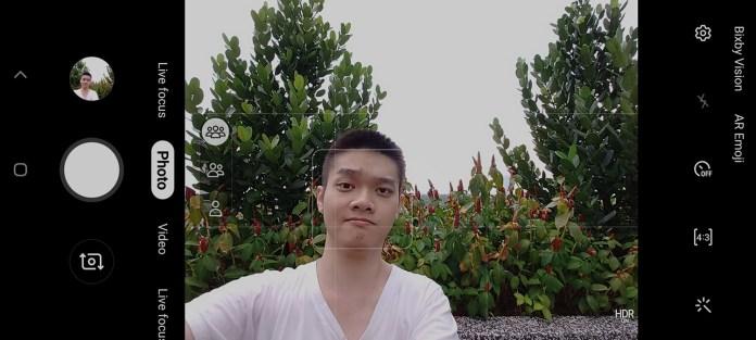 Samsung Galaxy A80 camera UI