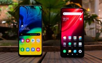 Xiaomi Mi 9T vs Samsung Galaxy A80