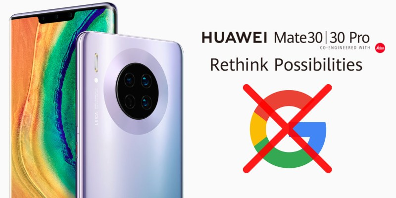 [UPDATED] Google apps on Huawei Mate 30 series? Here