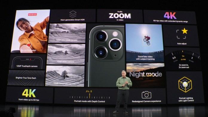 iPhone 11 Pro camera summary