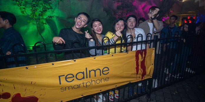 realme Malaysia Night of Frights