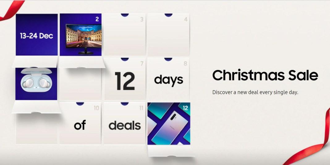 Samsung Malaysia advent calendar of deals 2019