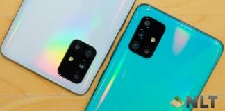 Samsung Galaxy A51; Samsung Galaxy A71