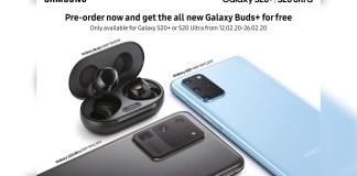 Samsung Galaxy S20 series pre-order header