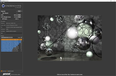 Dell XPS 13 9300 Cinebench R15