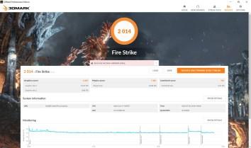 ASUS ZenBook 14 UX425 3DMark Fire Strike