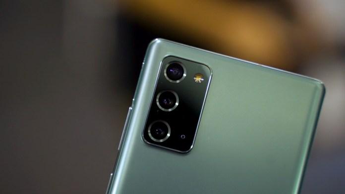 Samsung Galaxy Note20 Mystic Green