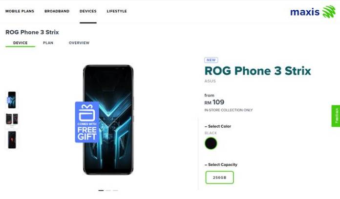 ROG Phone 3 Maxis