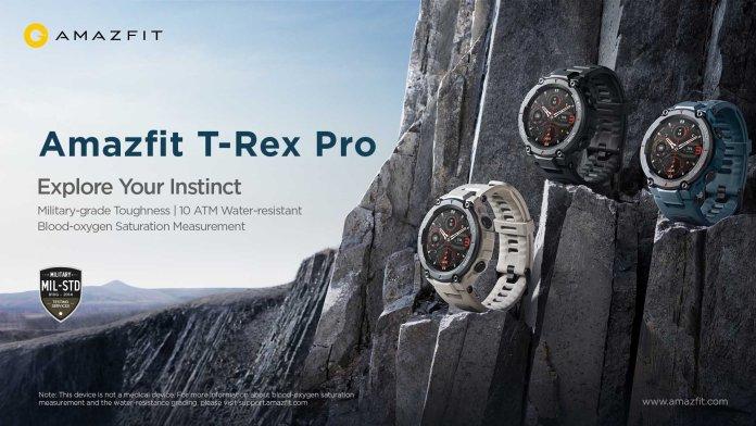 Amazfit T-Rex Pro Featured