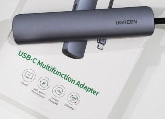 Ugreen 5-in-1 USB-C hub with HDMI + RJ45