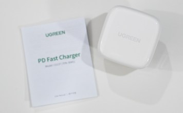 Ugreen 20W USB-C charger with Power Delivery