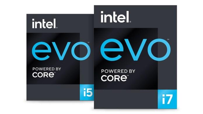 Intel Evo certification