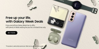 Samsung Galaxy Week Sales 2021