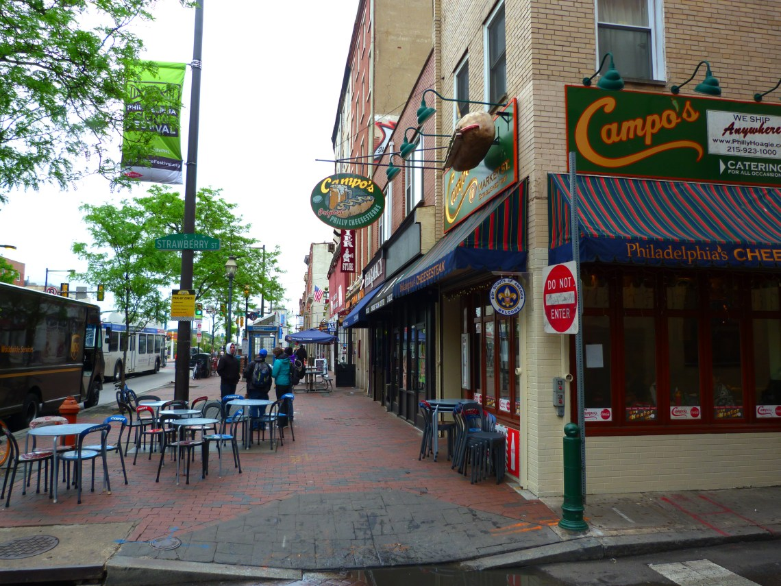 Strawberry Street Philadelphia USA