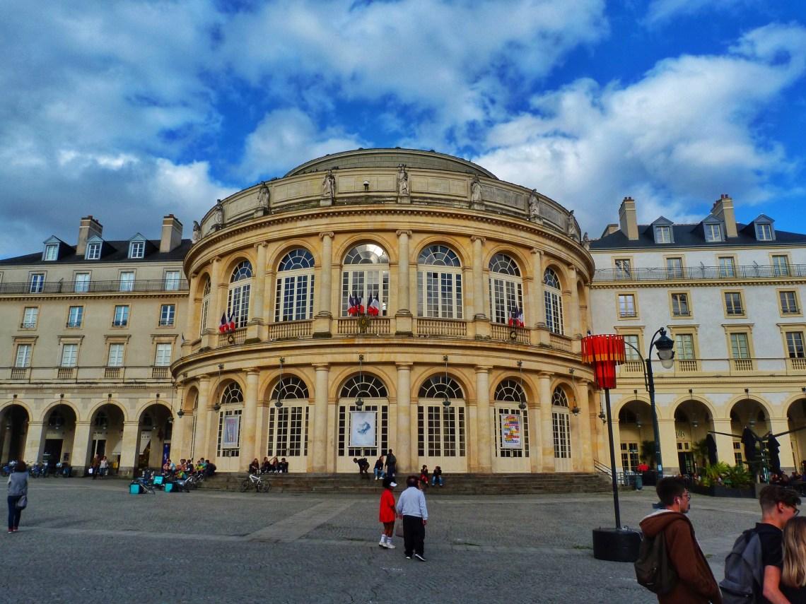 Rennes Opera house France Fransa