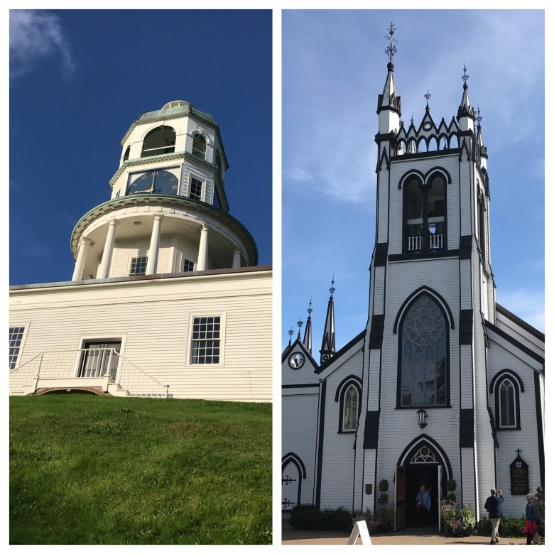 Halifax Clock Tower St John Anglican Church