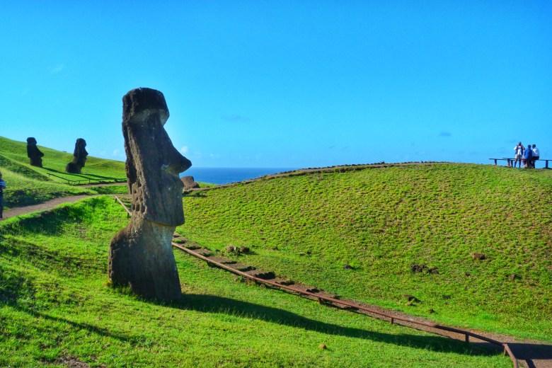 Paskalya Adasi Easter Island Şili Chile