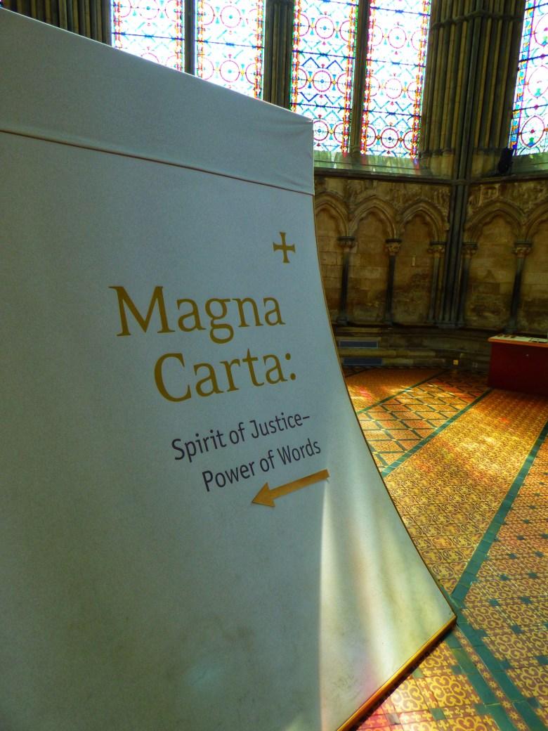 Salisbury Cathedral Magna Carta