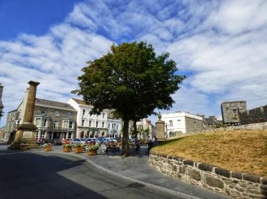 Castle town isle of man