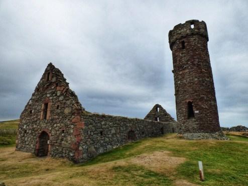 Keltikler doneminden kaalma Yuvarlak Kule