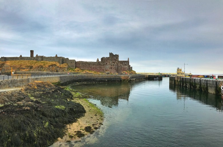 Peel Castle Isle of Man