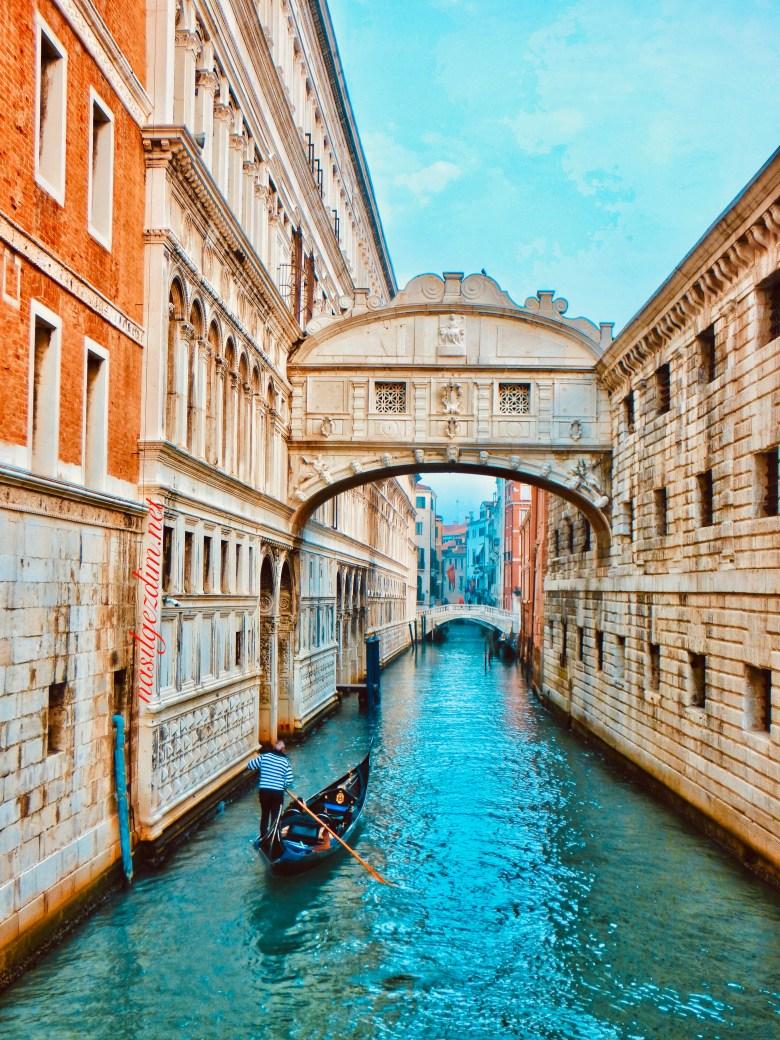 venedik gezi rehberi, venedik gezilecek yerler, venedik gezisi, nasil gezdim, nasilgezdim, Venedik Ahlar Köprüsü