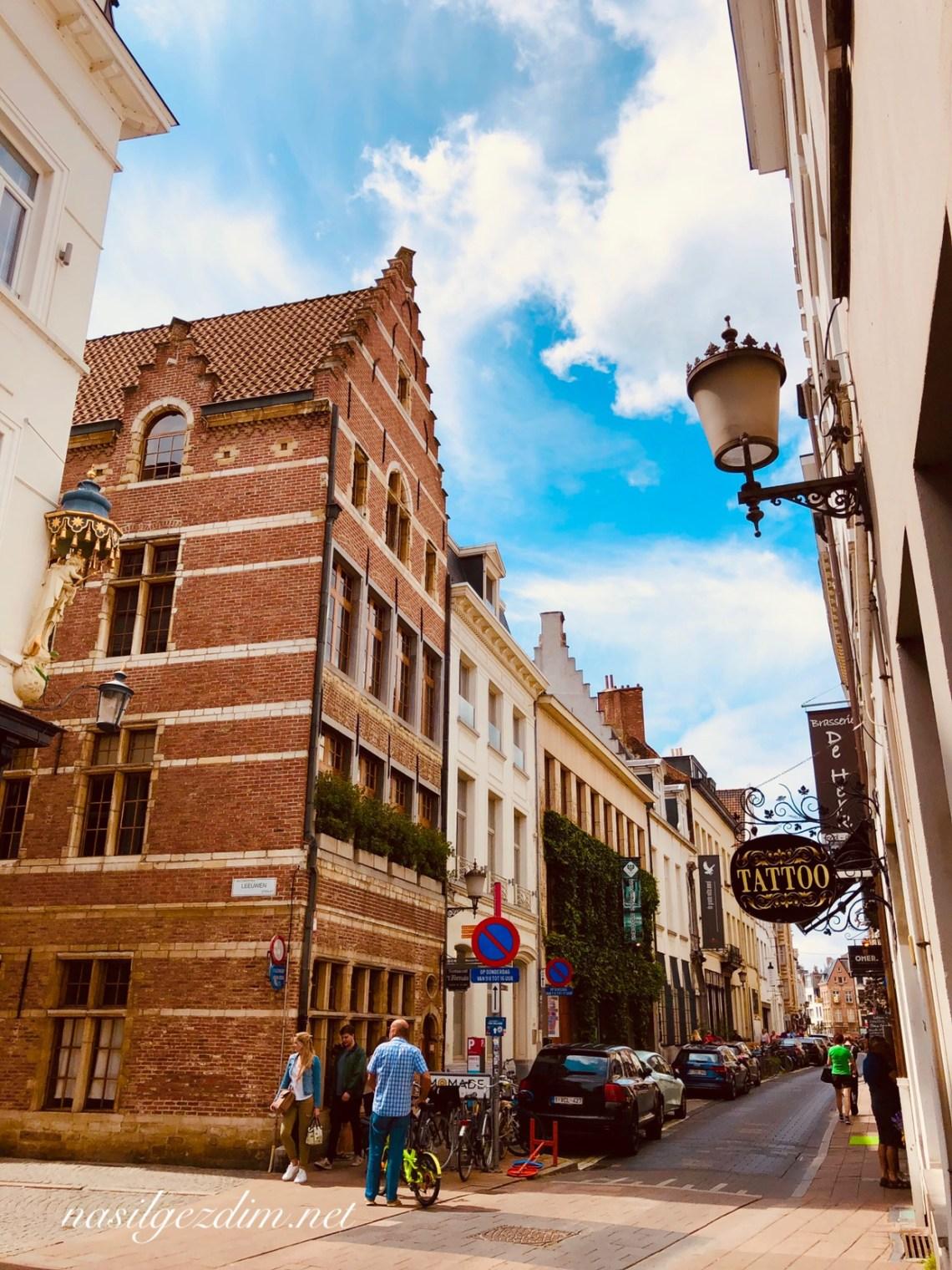 Antwerp Sokakları, antwerp gezi rehberi, antwerp mural, antwerp gezilecek yerler