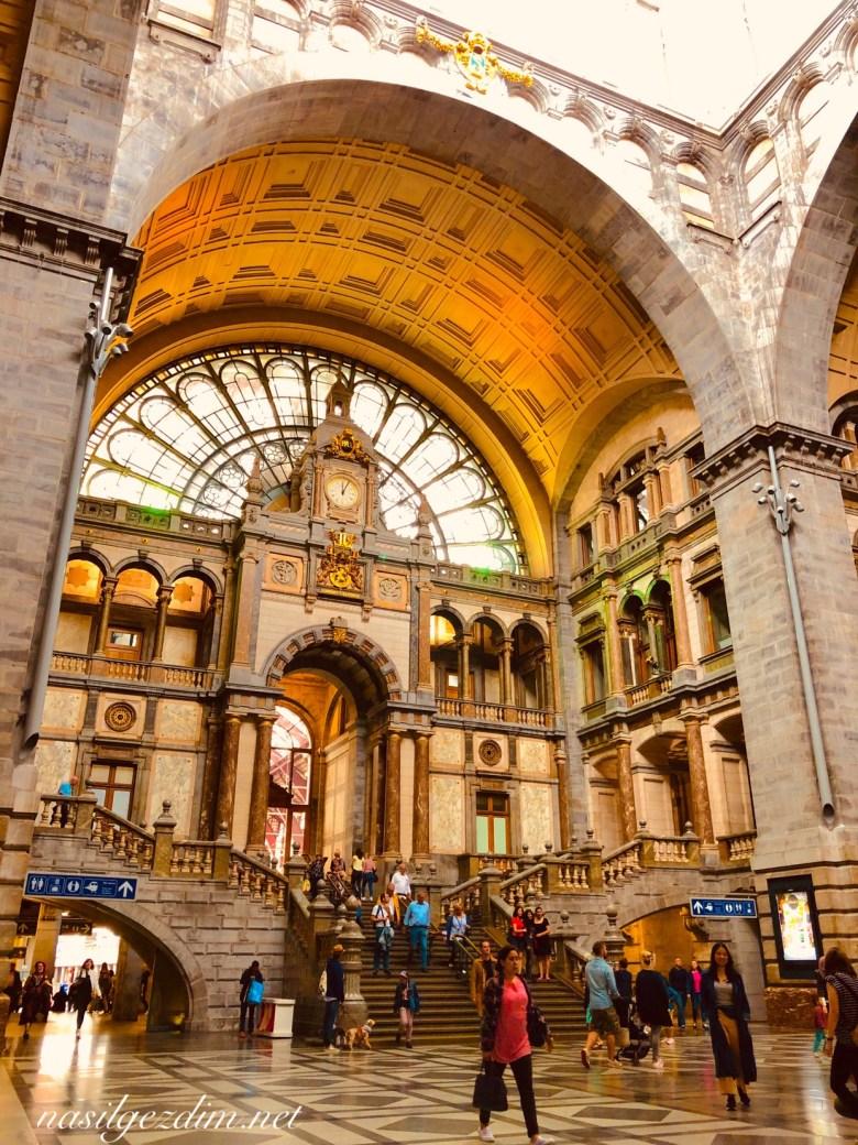 antwerp gezilecek yerler, anwers gezi rehberi, antwerp gez rehberi, antwerp gezi notları, nasilgezdim, nasil gezdim, Antwerpen-Centraal railway station