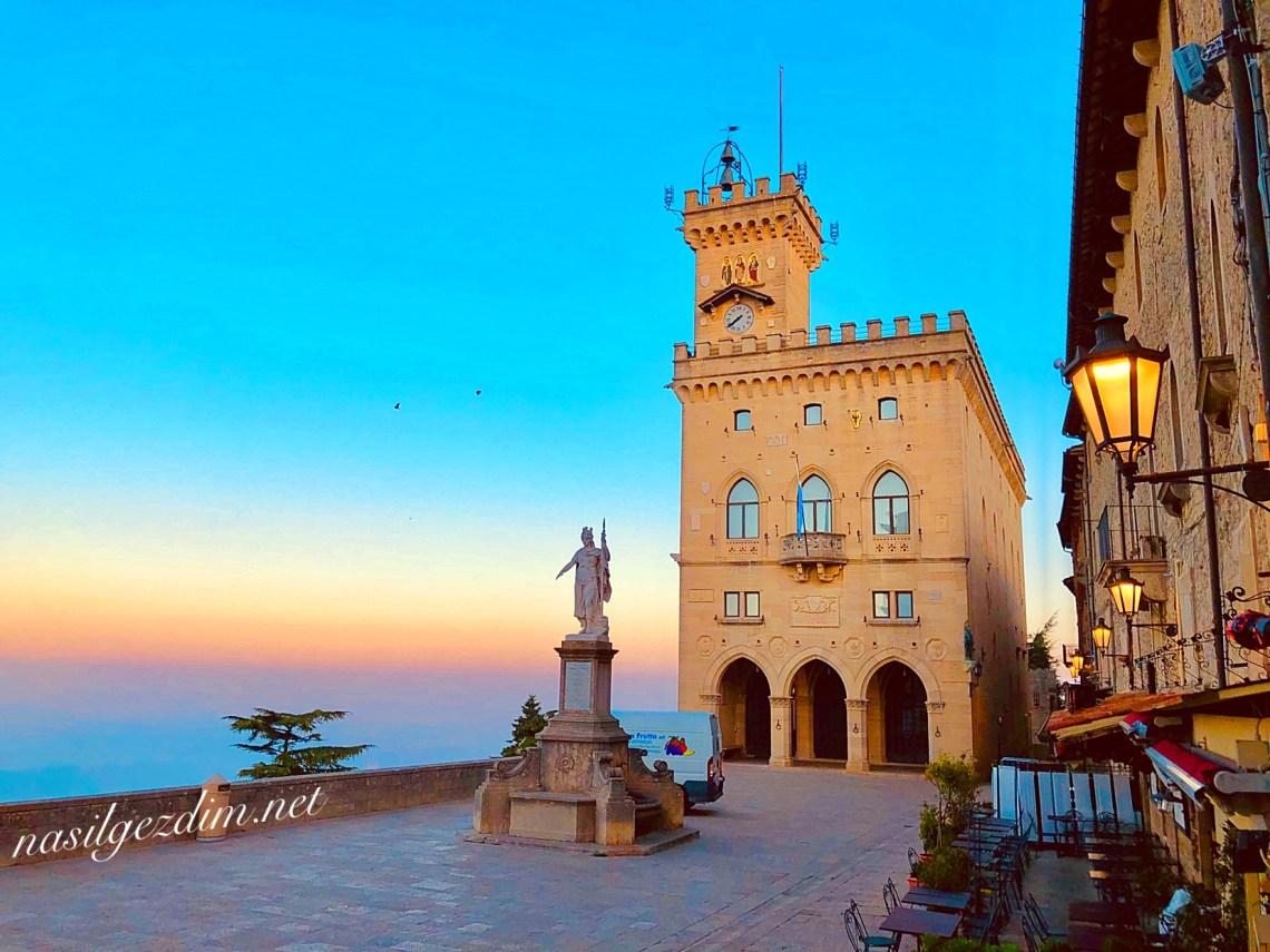 san marino gezilecek yerler, san marino gezi rehberi, san marino nerede, Piazza Della Liberta San Marino