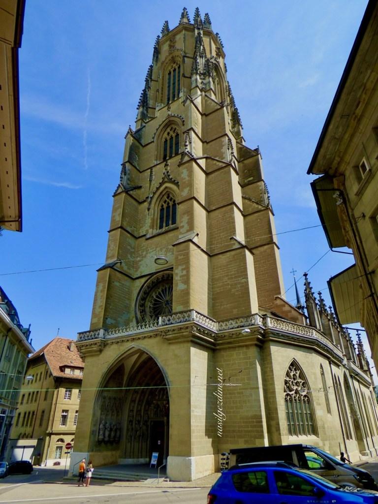 fribourg gezilecek yerler, fribourg katedrali, fribourg cathedral