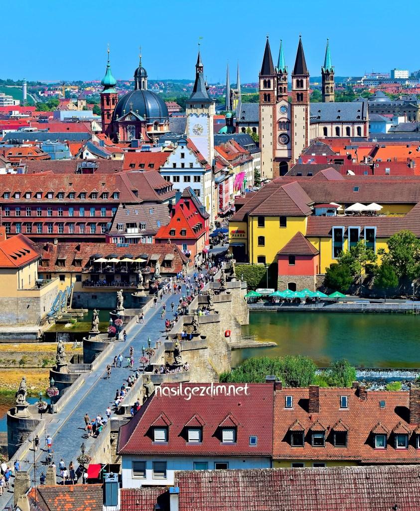 würzburg gezi rehberi, romantik yol rotası, würzburg gezilecek yerler, würzburg gezi rehberi