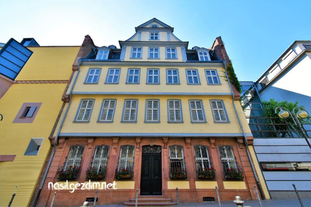 goethe evi, frankfurt gezilecekler yerler, frankfurt gezi rehberi