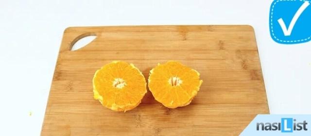 portakal nasıl soyulur