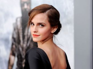 """Actress Emma Watson arrives at the film premiere of """"Noah,"""" in N"""