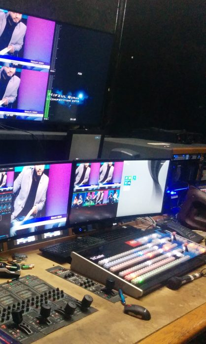Channel S Control Room - Youth Matters