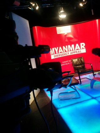 Channel S Myanmar Emergency Appeal - Behind the Camera
