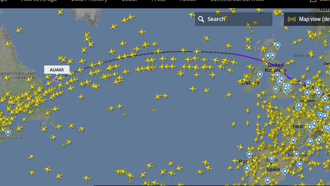 normal-flight-density
