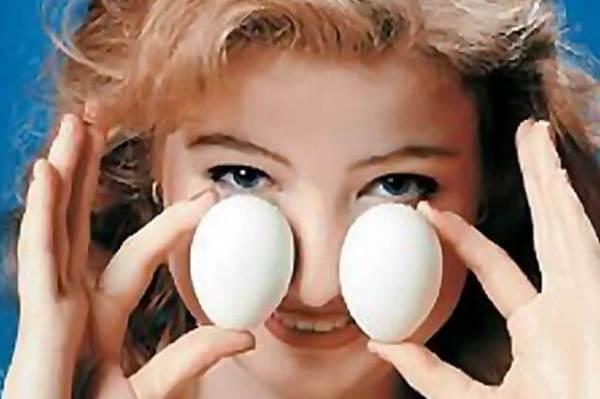 Лечение яйцами на первых стадиях