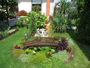 ландшафтный дизайн двора частного дома 5
