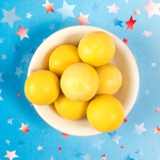 lemon cream malt balls