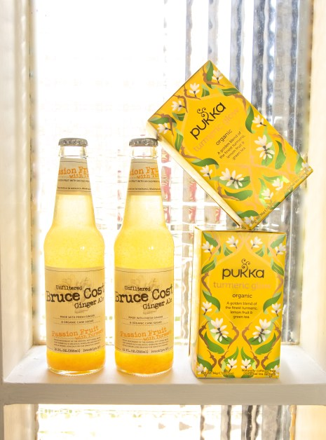 turmeric, turmeric soda, passion fruit turmeric ginger ale, turmeric tea, global flavors, PUKKA Tea, Bruce Cost Ginger Ale, specialty soda, trending beverage flavors, specialty soda, craft soda