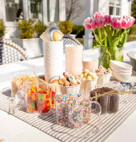 candy buffet, candy buffet decorations, play with texture