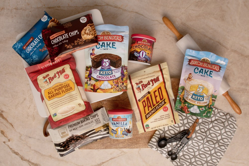 health and wellness trends, keto, paleo, Bob's Red Mill, keto cake frosting, keto cake mix, chocolate chips, sugar free chocolate chips, oat milk chocolate chips, paleo flour