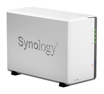 Synology DS218J 2 Bay Desktop-NAS-Gehäuse - 3