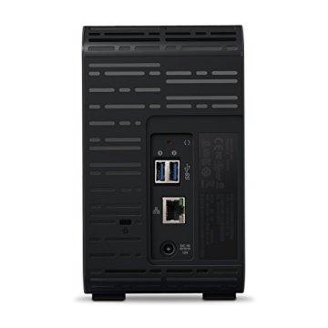 WD My Cloud EX2 Ultra 6 TB - Network Attached Storage - 2 Bay NAS - Streamen auf PC, Mobilgeräte, Spielkonsolen, Mediaplayer - WDBVBZ0060JCH-EESN - 3