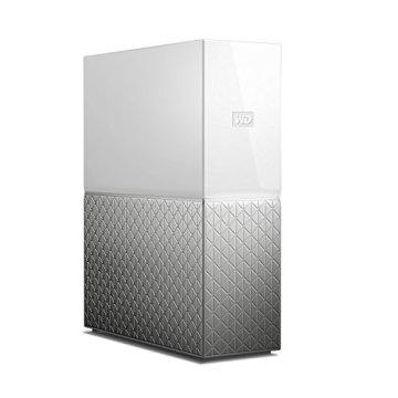 WD My Cloud Home 4 TB - Persönlicher Cloudspeicher - externe Festplatte – WLAN, USB 3.0, zentrales Speichern, Videostreaming - WDBVXC0040HWT-EESN - 2