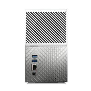 WD My Cloud Home Duo 4 TB Persönlicher Cloudspeicher - Externe Festplatte 2-Bay - WLAN, USB 3.0. Backup, Videostreaming - WDBMUT0040JWT-EESN - 2