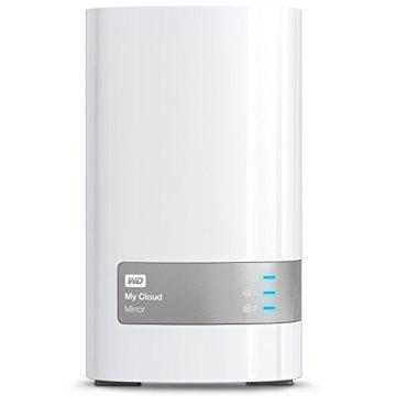 Western Digital 4TB (2x2TB) My Cloud Mirror Gen 2, NAS 2 Bay, Persönlicher Cloud Speicher, Media Server, Backup, Handy und Tablet Sicherung, Syncronisations Software - 1