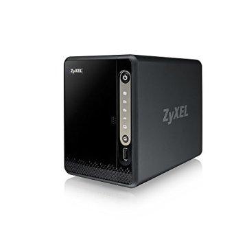 Zyxel Privater Cloud Speicher/Storage [2-Bay NAS] für Zuhause - 1,3GHz Prozessor (JBOD, Raid 1)[NAS326] - 3