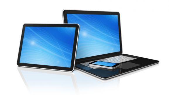 Dizüstü bilgisayar üzerinden tablet
